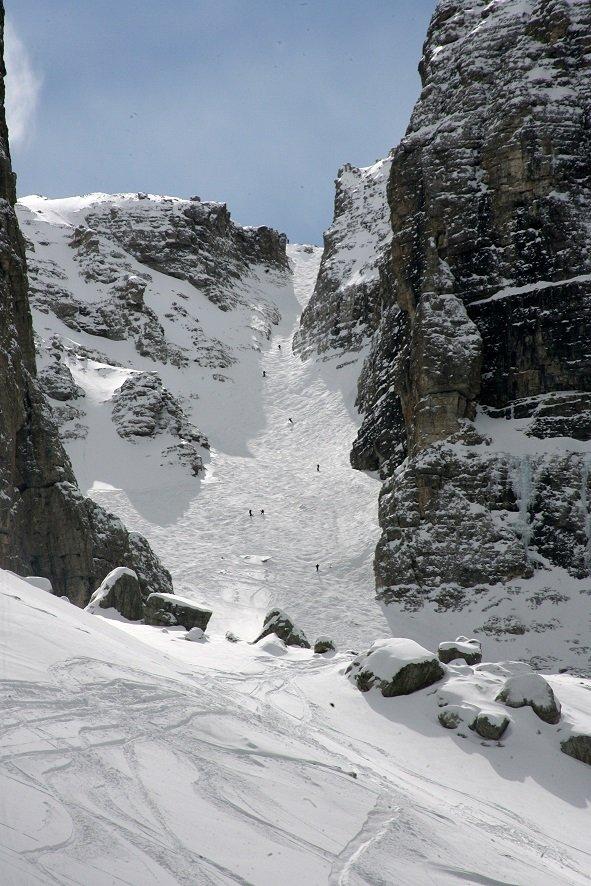 Best ski runs: Val Mesdi, Alta Badia - ©Alta Badia Tourism