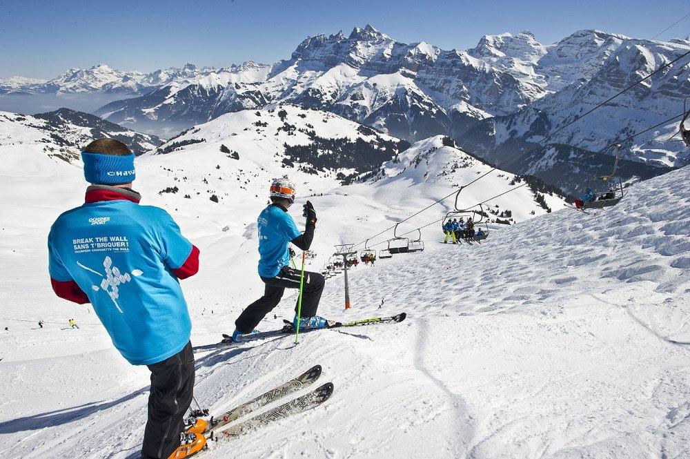 Best ski runs: The Wall, Portes du Soleil - ©Portes du Soleil