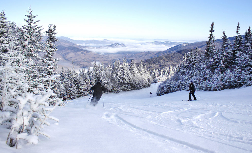 Big views and soft turns at Wildcat Mountain. - © Wildcat Mountain