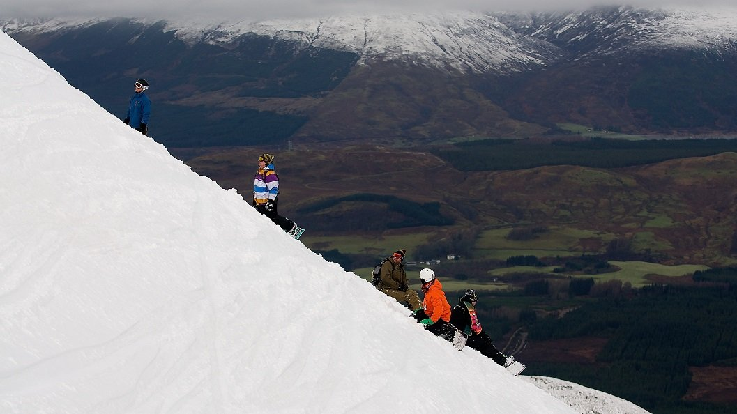 You choose your own way down in the Back Corries, Scotland - ©Steven McKenna