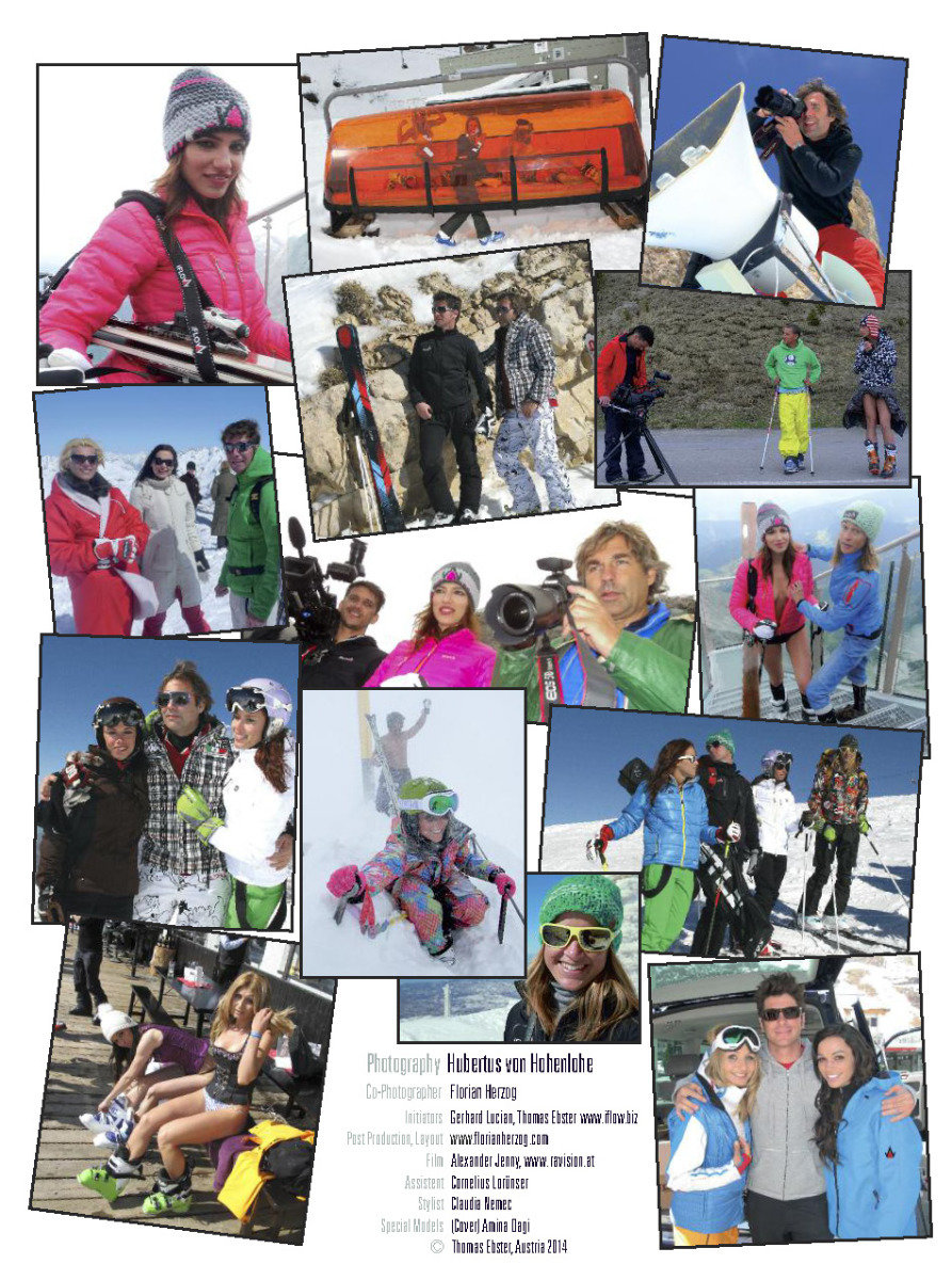 Femaile Ski Teacher Calendar 2014 - ©Hubertus Hohenlohe/www.skiinstructors.at