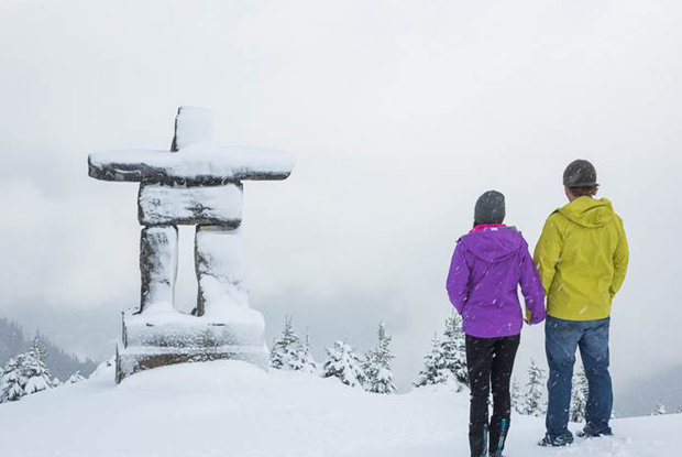 First snow for Whistler Blackcomb - ©Mitch Winton/coastphoto.com
