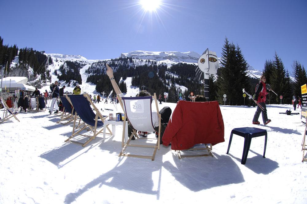Outre le grand ski, Flaine propose également de très nombreuses activités de détente et de loisirs - © Yann Havis
