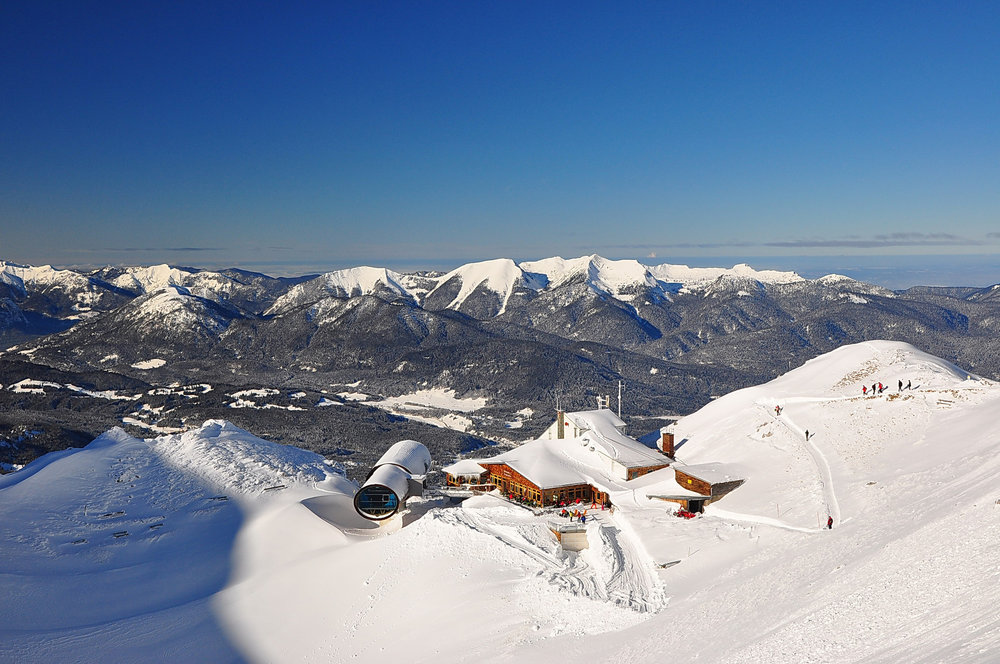 Best ski runs: Dammkar, Mittenwald, Germany