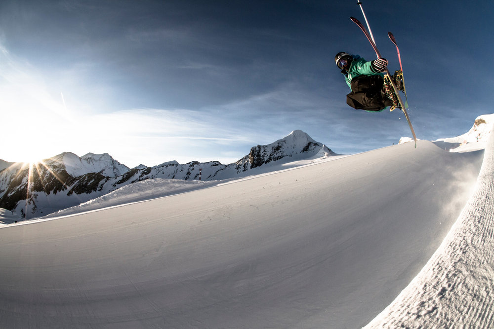 Skiën op de Kitzsteinhorn - © Gletscherbahnen Kaprun AG