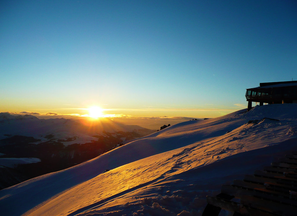 Am Jakobshorn bei Davos - © Reto Blättler