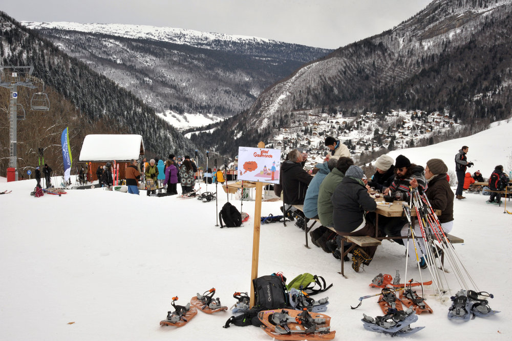 Enjoi local products on slopes ! - ©Service presse - Les Aillons