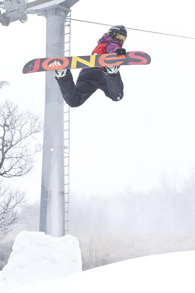 Backside air, Terje Haakonsen style! - ©Kalle Hägglund