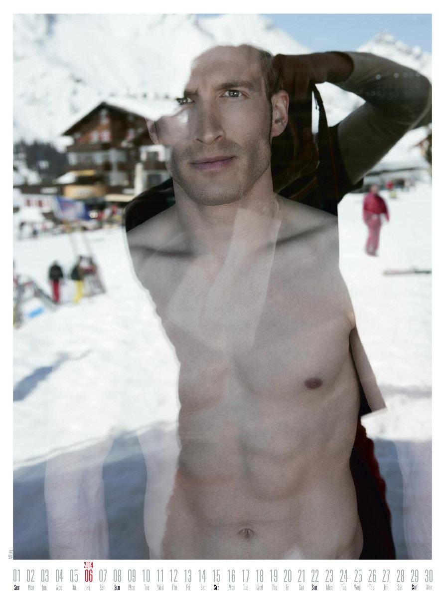 Mr June 2014 - Ski instructor calendar - ©Hubertus Hohenlohe/www.skiinstructors.at
