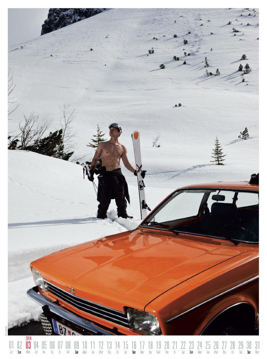 Mr March 2014 - Ski instructor calendar - ©Hubertus Hohenlohe/www.skiinstructors.at