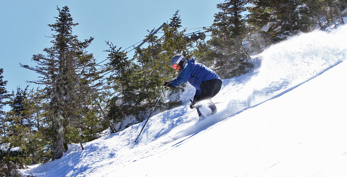 Plenty of leg-burning turns await at Sugarbush. - © Sugarbush Resort