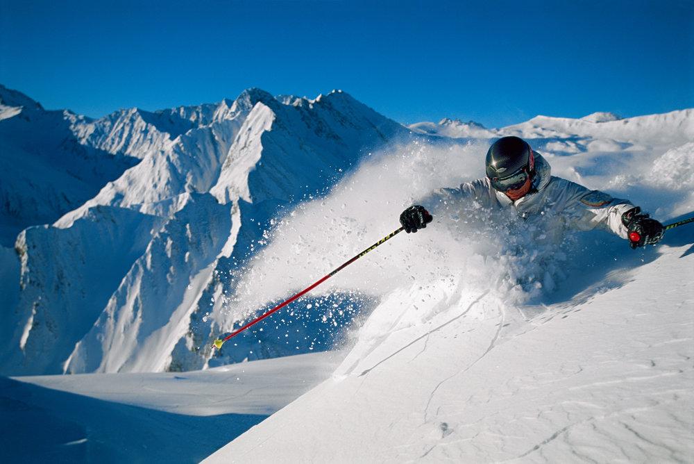 Powder skier - © Graubűnden