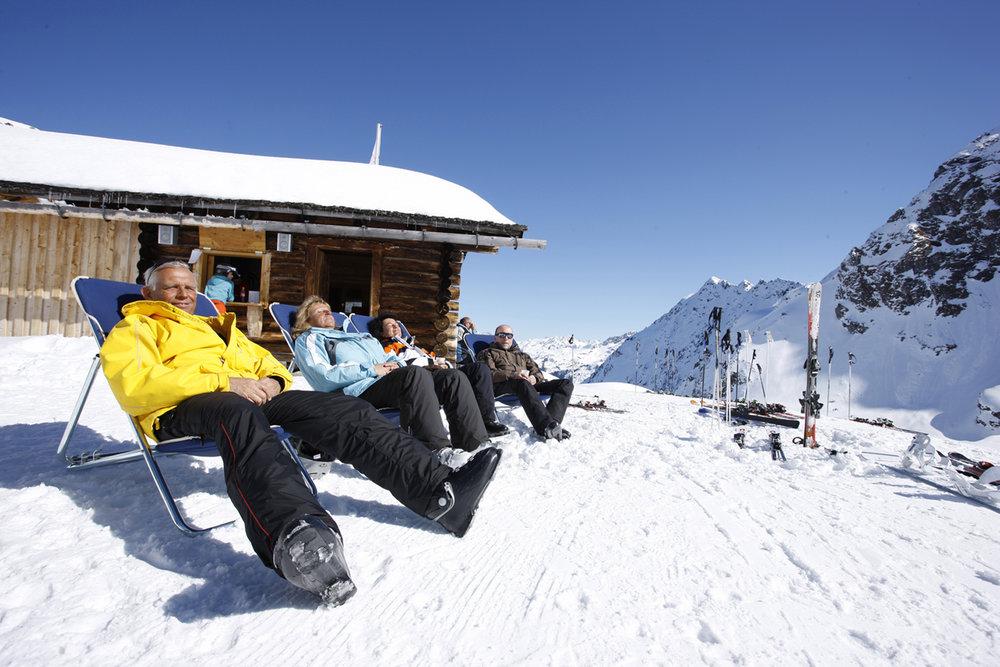 Relaxen im Schnee - © Silvretta Montafon