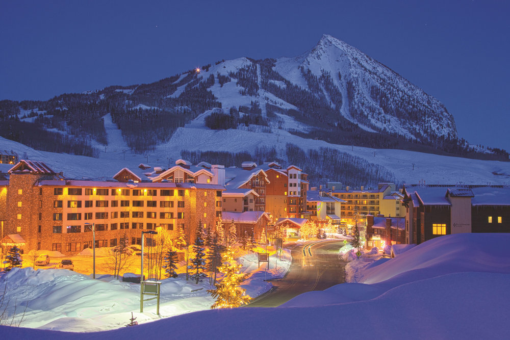 Rooms with a view at Crested Butte Mountain Resort. - © Courtesy of Crested Butte Mountain Resort.