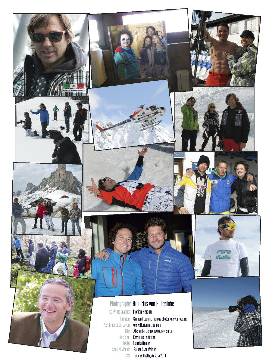 Behind the scenes - © Hubertus Hohenlohe/www.skiinstructors.at
