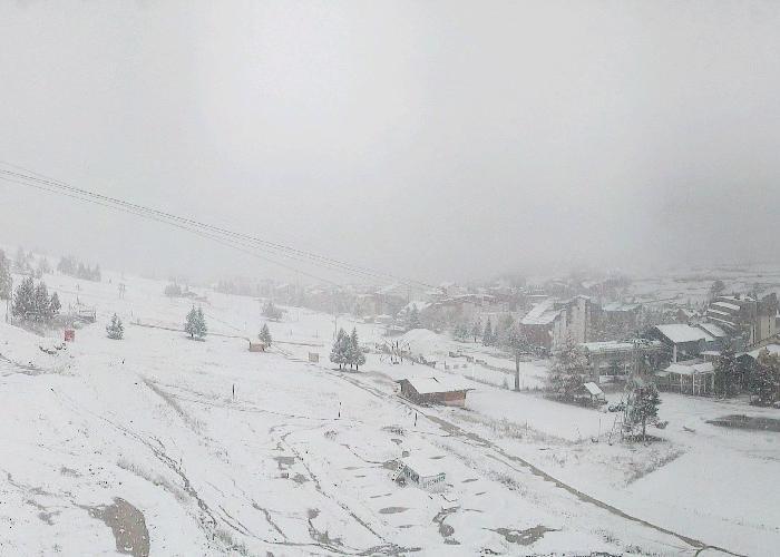 Snow in Les 2 Alpes Nov. 4, 2013