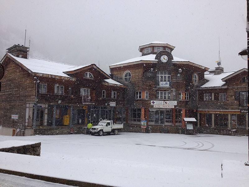 Snow in Val d'Allos Nov. 4, 2013