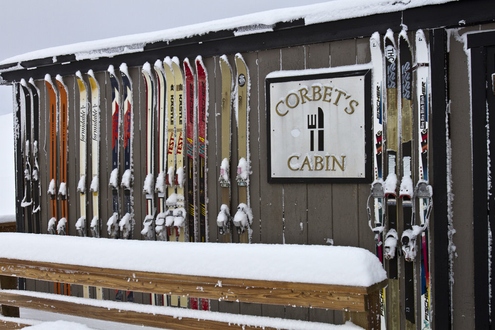 "Snowing outside right now with 14 inches in the last 48 hours putting Jackson Hole at 28"" total so far this season."
