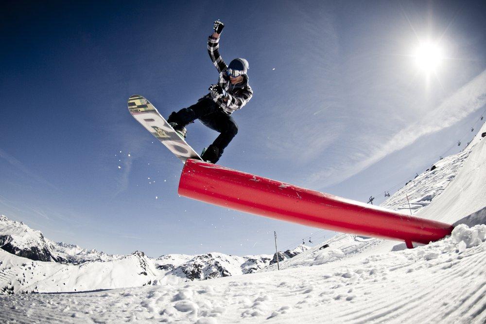 Snowpark Montafon - © Silvretta Montafon /Daniel Zangerl