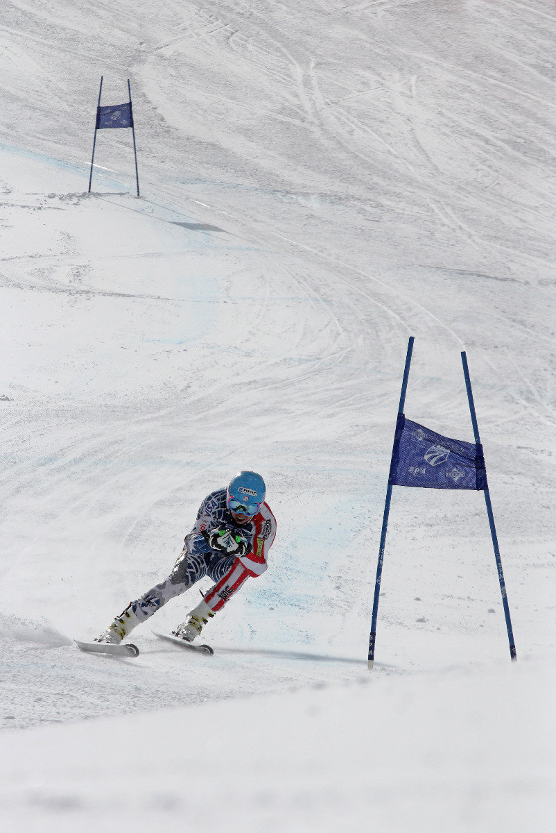 Ted Ligety trains with the U.S. Ski Team at Copper Mountain. - © Photo courtesy Tripp Fay/Copper Mountain Resort.