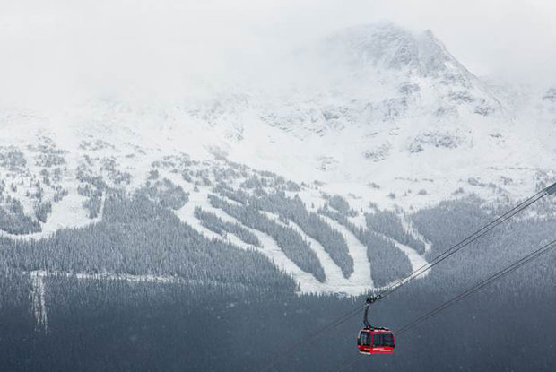 Whistler catching the edge of a huge storm - ©Mitch Winton/coastphoto.com