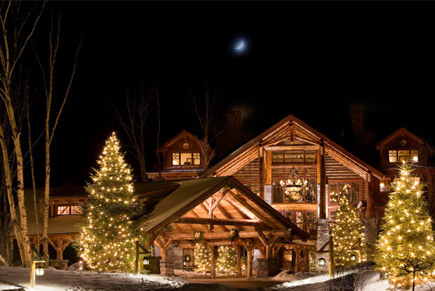 Whiteface Lodge, master of rustic luxury. - © Whiteface Lodge