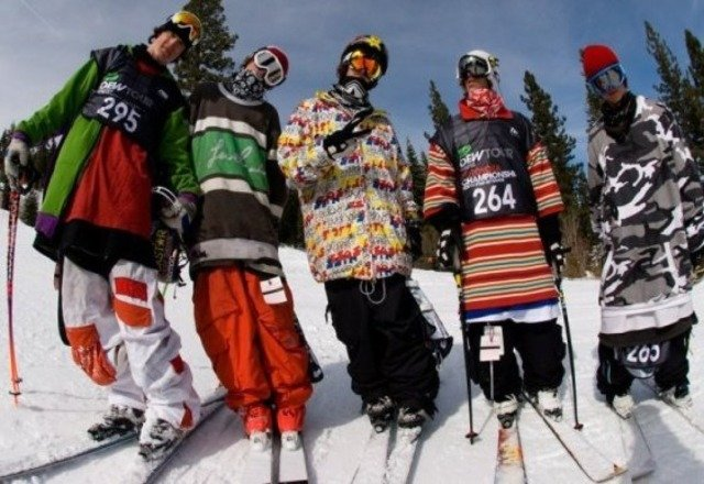 Tall t steeze for opening day at Breck bomb.  Shiz was chiiiiil yo