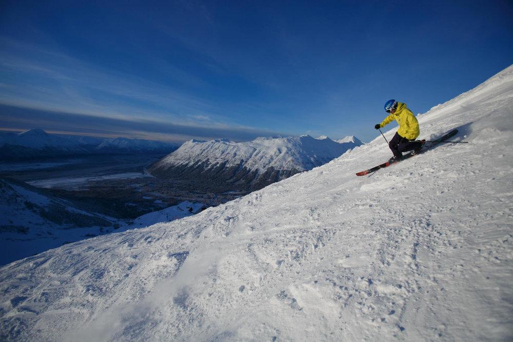Alyeski offre des paysages caractéristique de l'Alaska - © ® Alyeska Resort