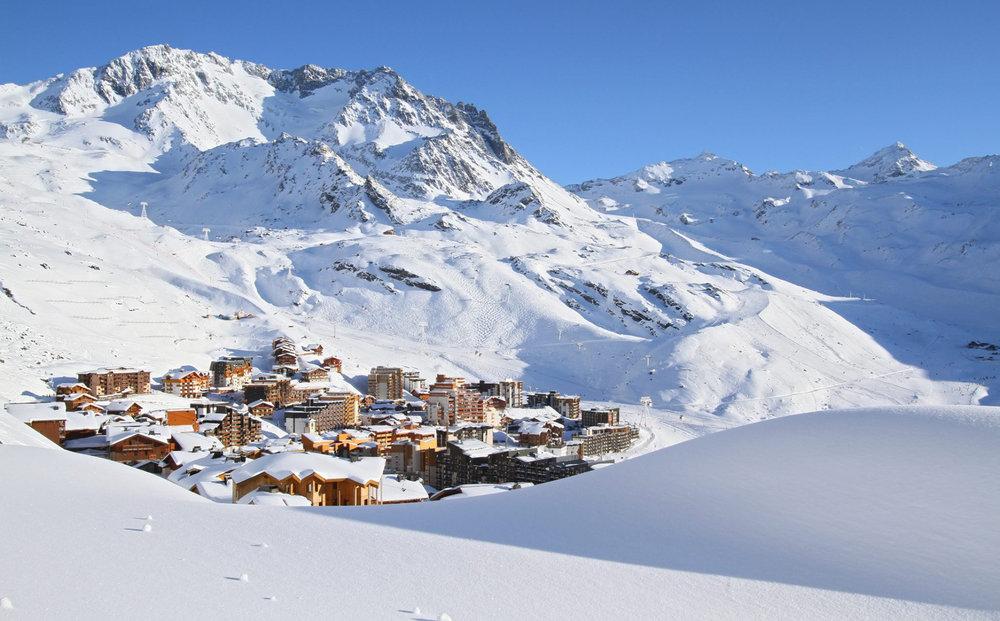 La neige est déjà bien présente sur le domaine skiable de Val Thorens qui ouvrira dès ce week-end - © Office de Tourisme Val Thorens