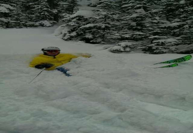 yesterday was the best day so far. ducked some ropes and found the stash with the boy's! shredded the gnar gnar all day!