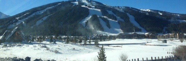 Great ski slopes