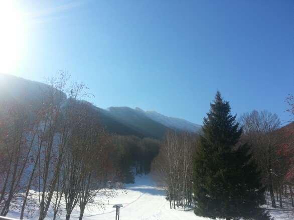 bella giornata di sci