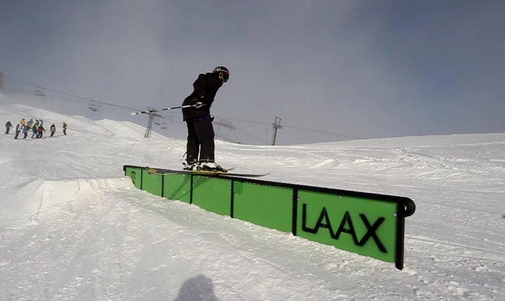 Freeskicamp a Laax (Svizzera)