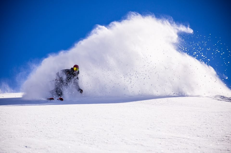 Cold temps and a big snow storm has made for great early season conditions for West Coast skiers and boarders.  - ©Mammoth Mountain Facebook