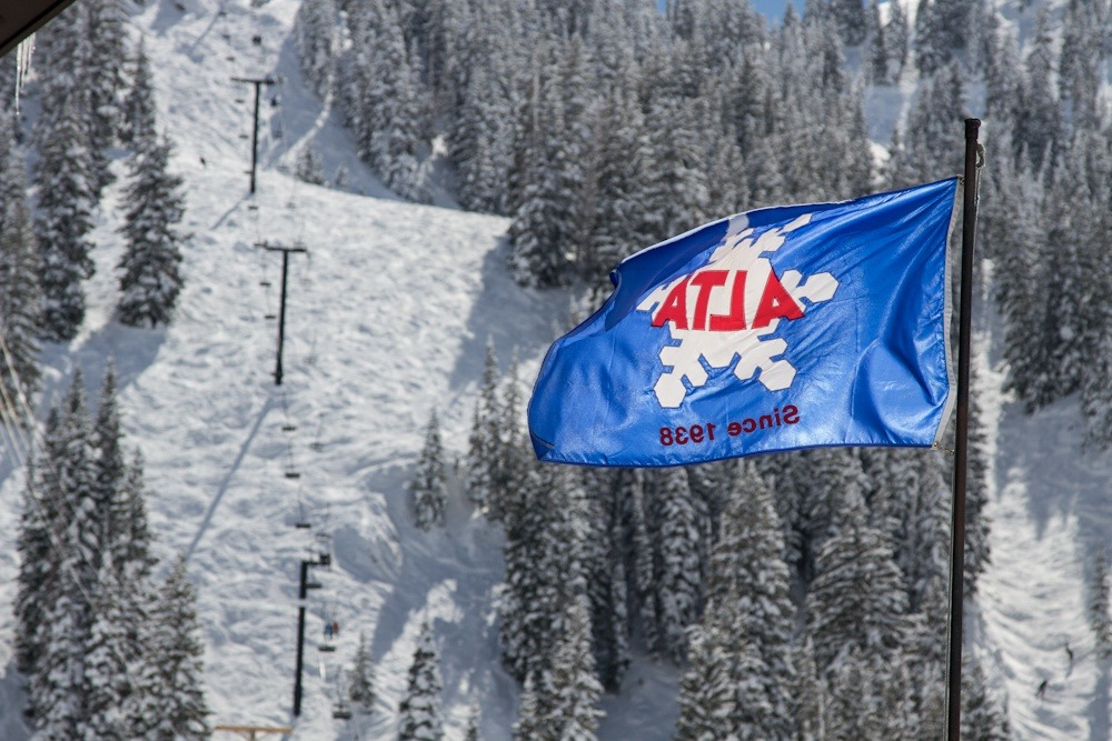 Alta has been a powder skiing mecca since 1938.  Track a storm and see for yourself. Photo by Liam Doran