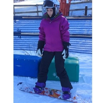 Yo yo BC.   Evil G sighting today!  If you see her on the mountain, stay clear and show respect.