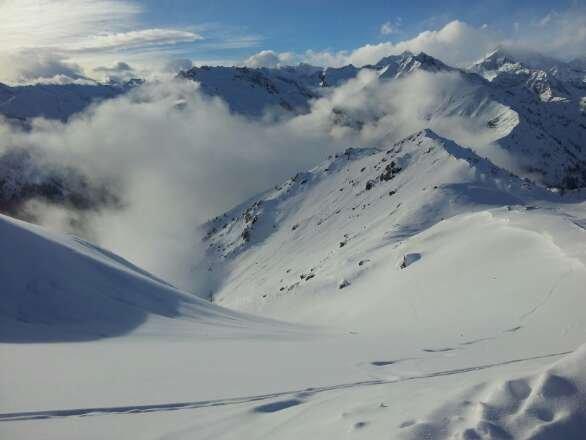 grande giornata,  pochissima gente e tanta neve!