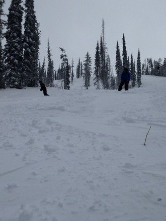 Awesome day at Blacktail. Powder for all! Love this place!