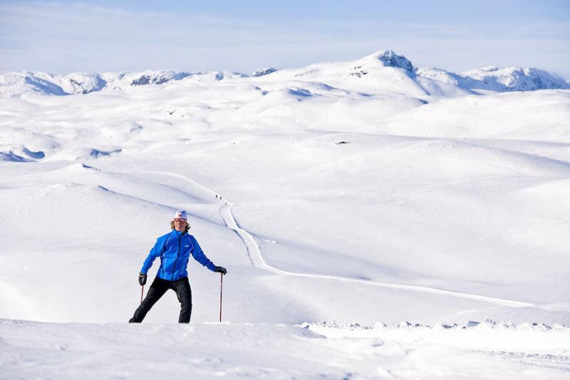 Vil du gå ski bortover, og ikke bare nedover? - © Vegard Breie