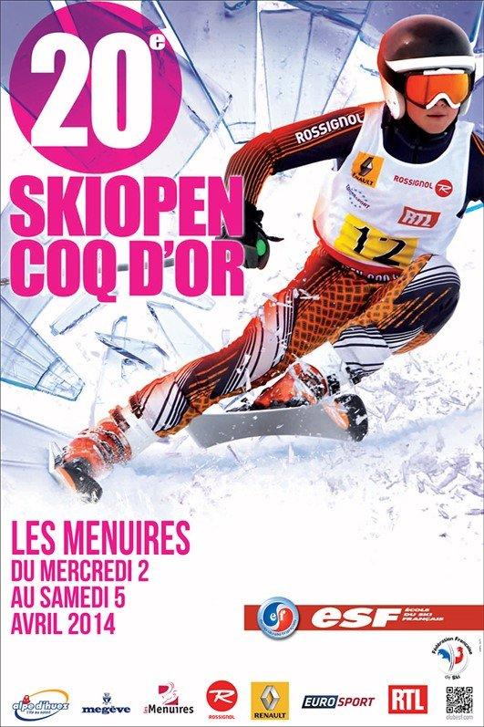 20ème Skiopen Coq d'Or - ©Office de Tourisme des Menuires