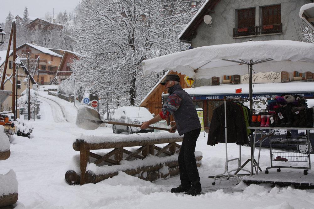 20cm in Val d'Allos