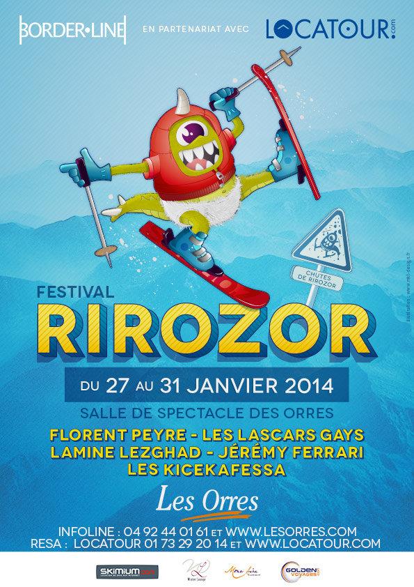 Affiche Festival Rirozor - ©Office de tourisme des Orres