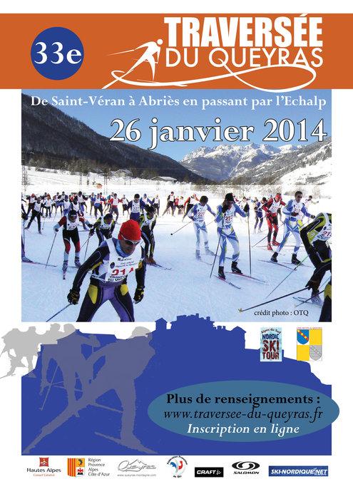 Affiche Traversée du Queyras 2013 - © OT Queyras