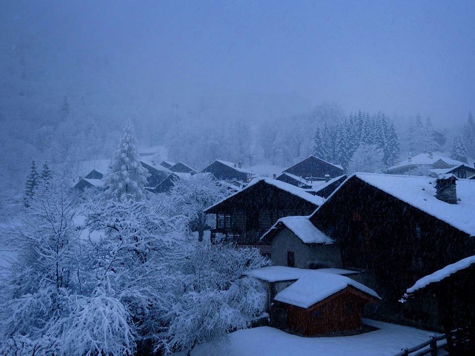 Alagna Valsesia - Neve fresca 26 Dic 2013 - ©Alagna Valsesia