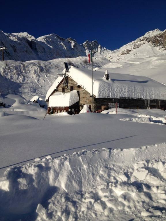 Alagna Valsesia - Neve fresca 28 Dic 2013 - ©Alagna.it