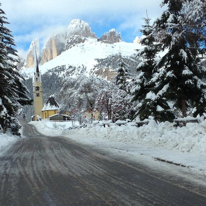 Alba di Canazei, Val di Fassa - Neve fresca 27 Dic 2013 - ©APT Val di Fassa