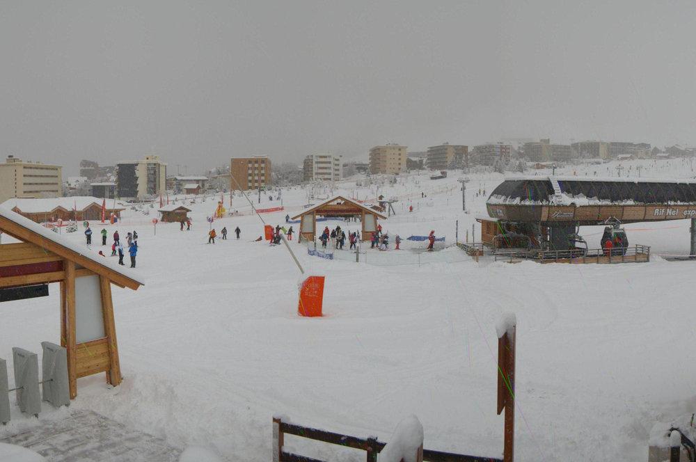 Alpe d'Huez Dec. 20, 2013