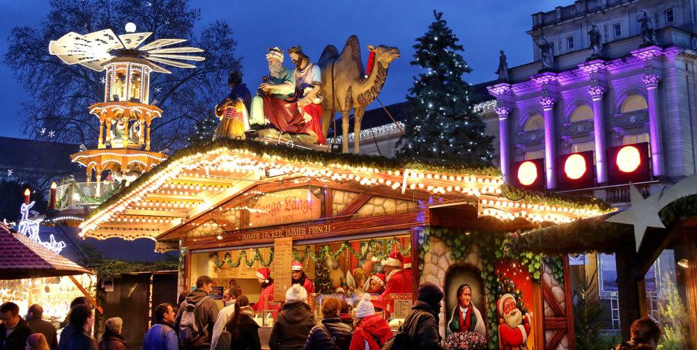 Mercatini di Natale - © Marktamt Karlsruhe