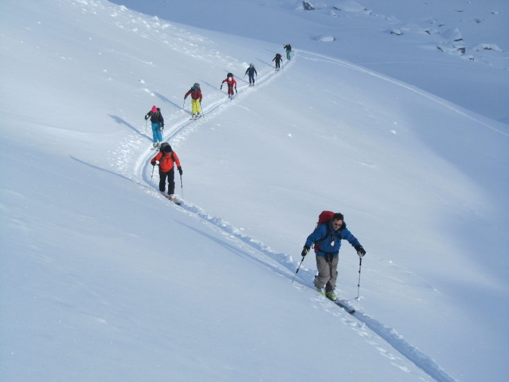 Aufstieg zum Gipfel der Sulzfluh (2.817 m) - © bergpunkt AG