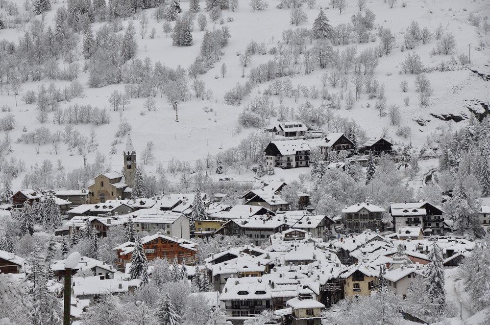 Cesana, Vialattea - Neve fresca 26 Dic 2013 - ©Vialattea